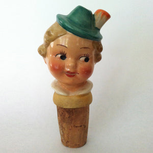 Dutch Girl Bottle Stopper II