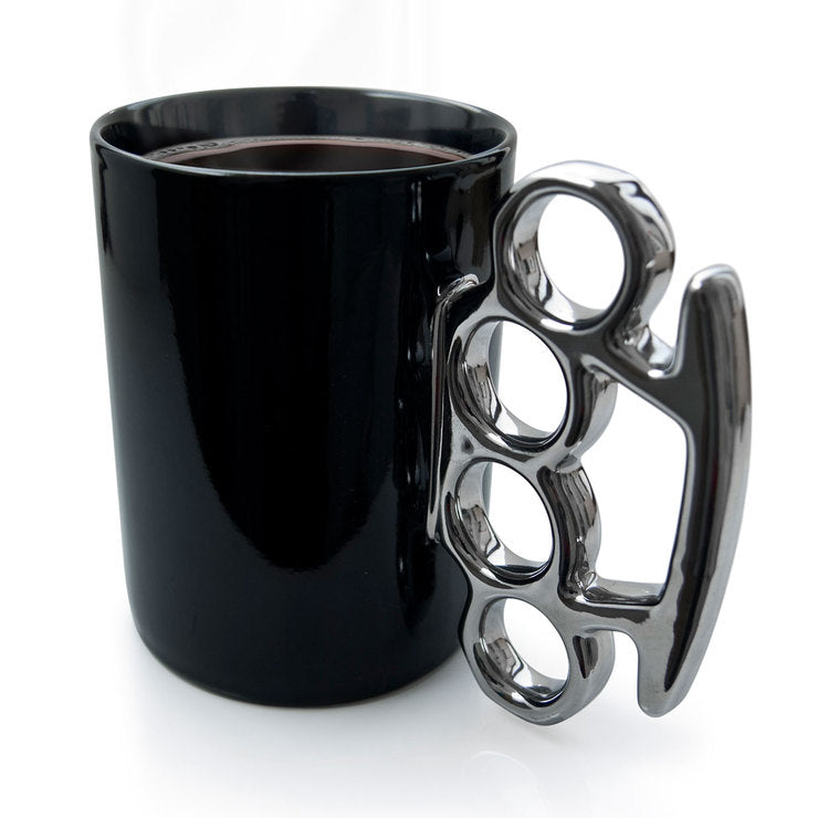 Knuckle Duster MUG! Black