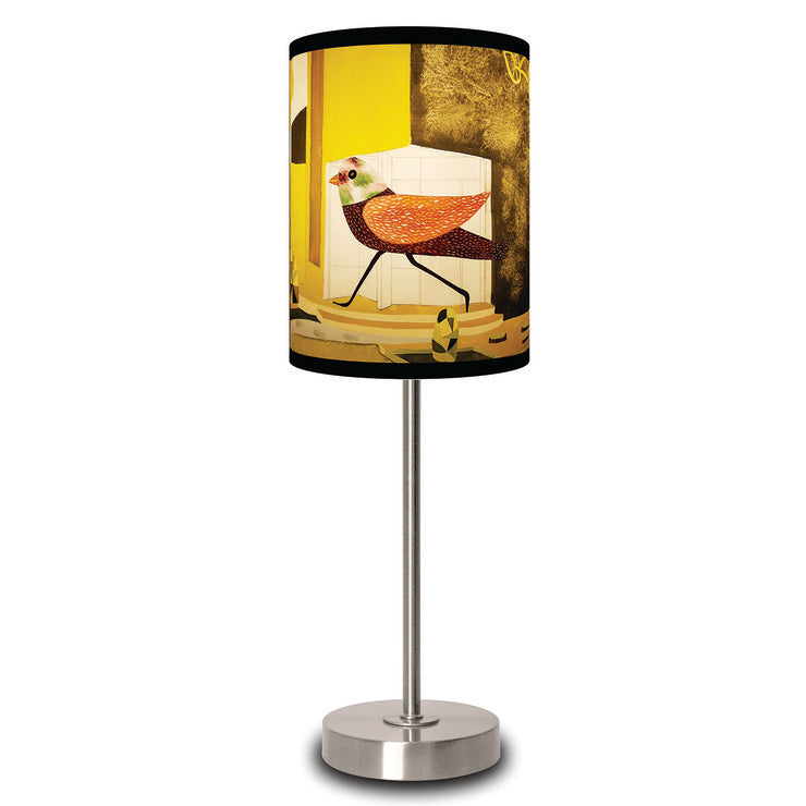 Alarmed Birds Lamp