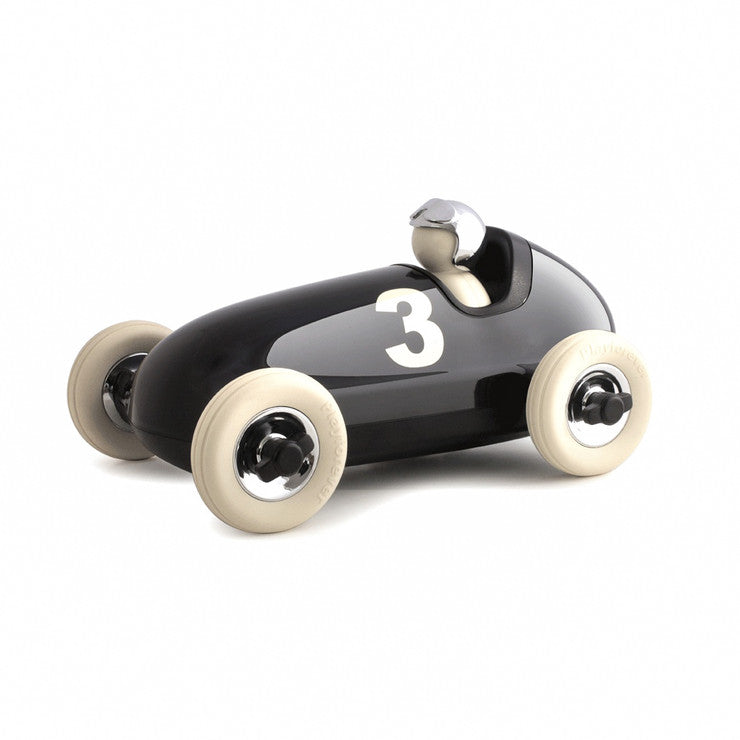 Bruno Racing Car Chrome Black