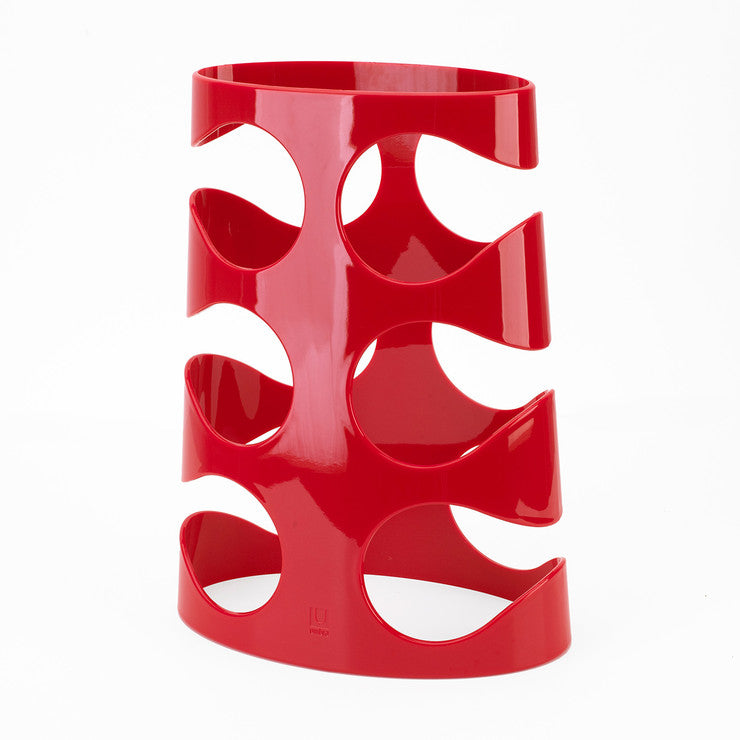 Grapevine Wine Rack Red