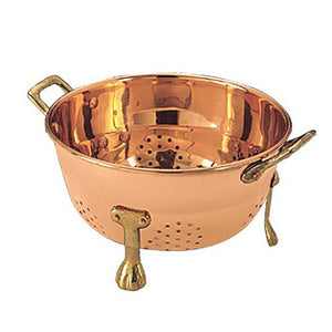 Copper Berry Colander