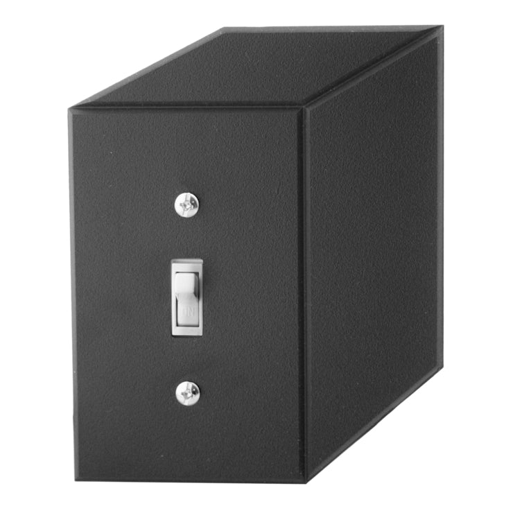 Cubic Switch Plate Black