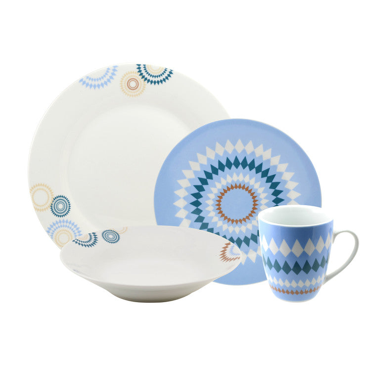 Diamonte Dinnerware Set