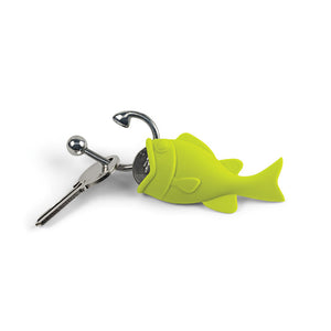 Hooked Keyring & Coin Holder