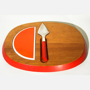 Contempo Cheese Board And Knife