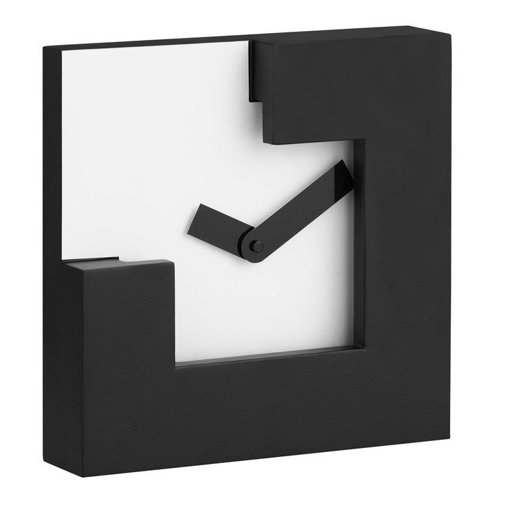 Chira Table Clock Black White