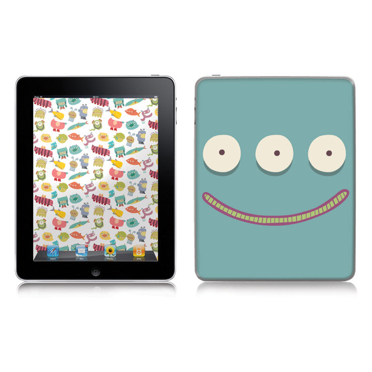 Monsters iPad 2/3 Decal