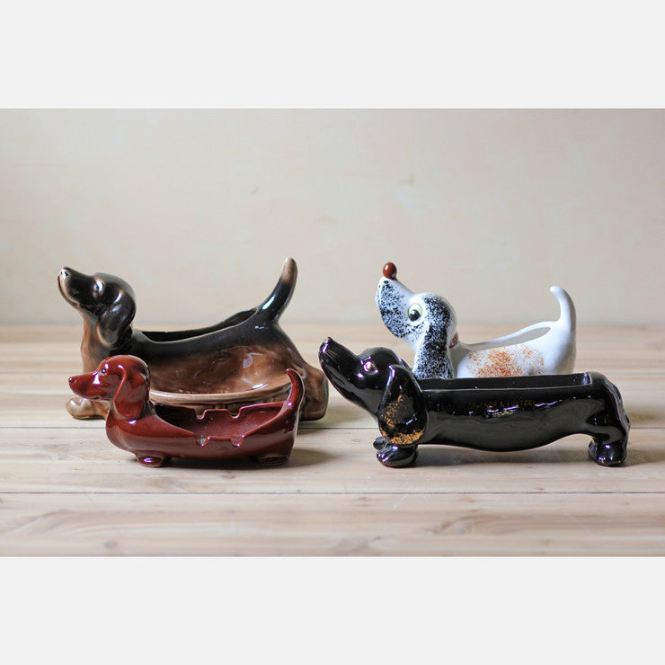 Dog Figurines Set Of 4