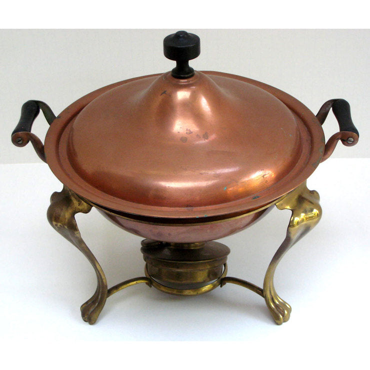 Chafing Dishes Copper 4pc Set