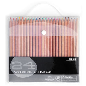 Colored Pencils Set Of 24