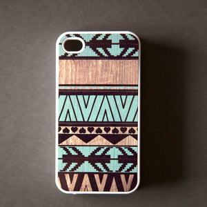 iPhone 4/4S Case Mint Geometric