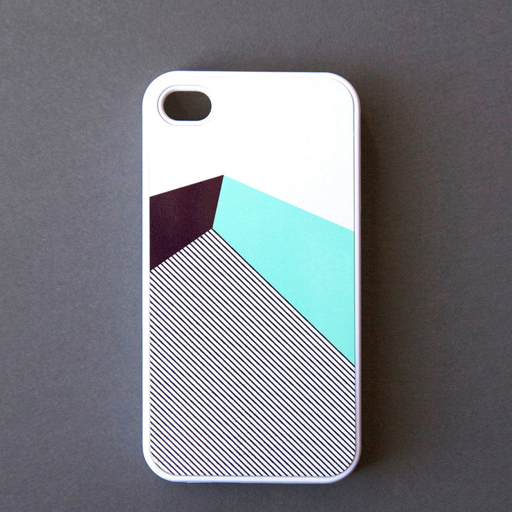iPhone 4/4S Case Color Block Blk