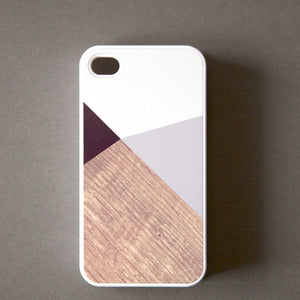 iPhone 4/4S Case Color Block Gry