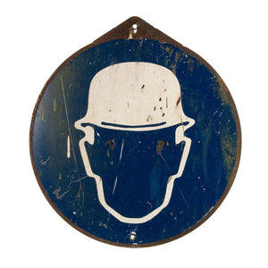 French Hardhat Sign