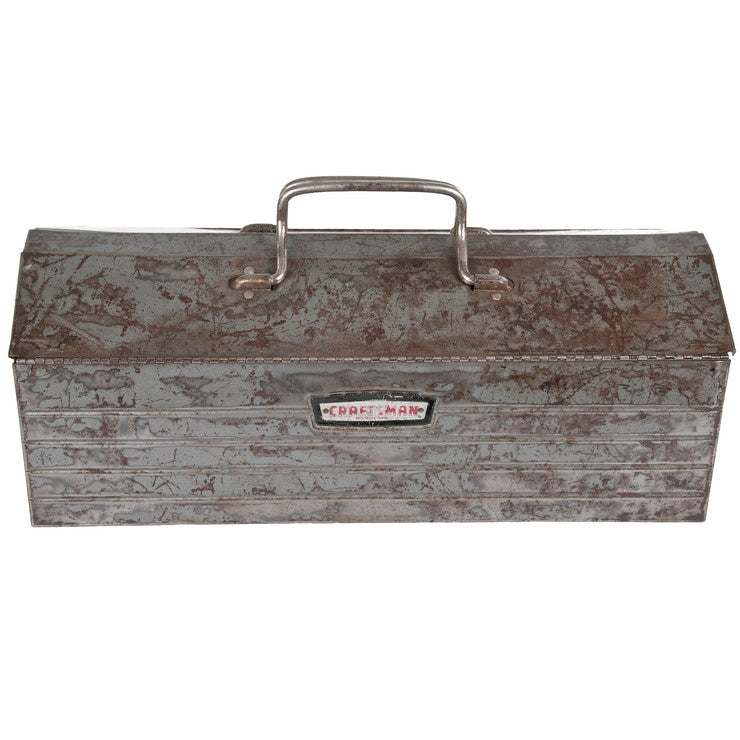 Craftsman Tool Box With Lid