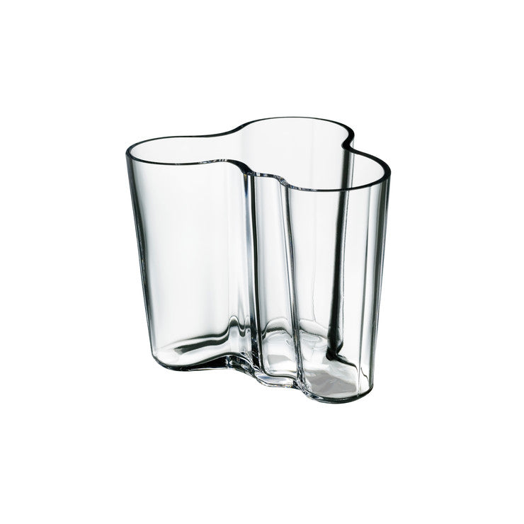 Aalto Vase 3.75\ Clear""