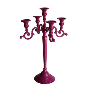 Multi-Tiered Candleholder Pink