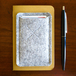 Oxford Card Sleeve Concrete