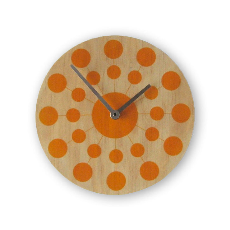 Solar Clock Yellow