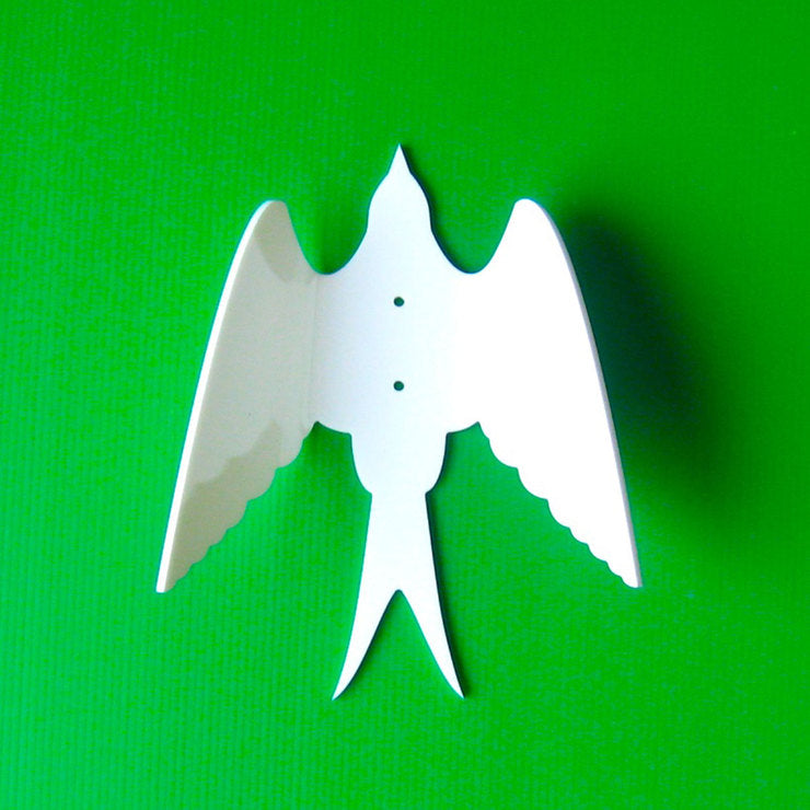 Bird Wall Hook White