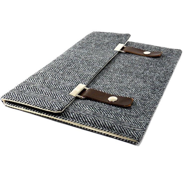 iPad Pocket Case Herringbone