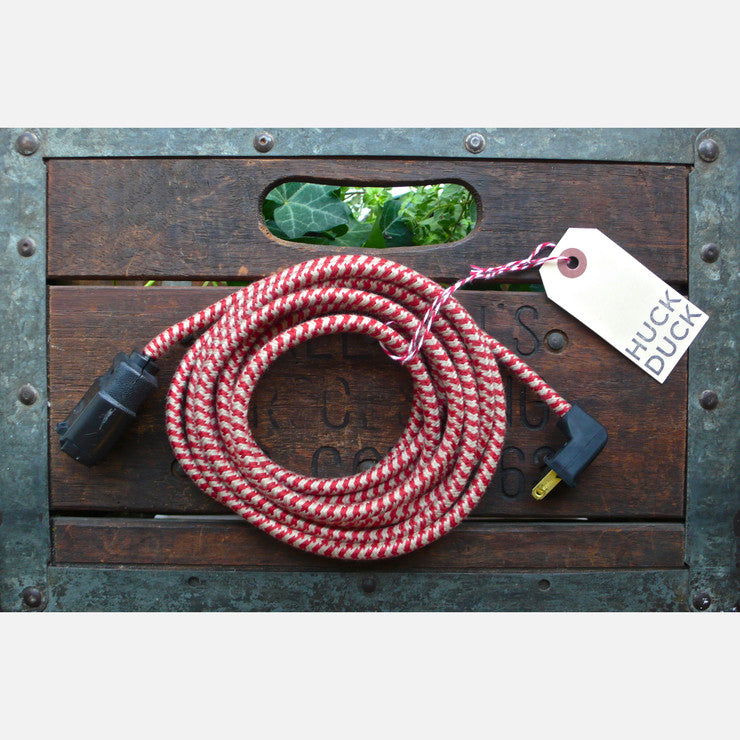 12' Extension Cord Houndstooth