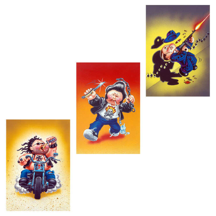 Garbage Pail Kids Bad Boy 3 Pack