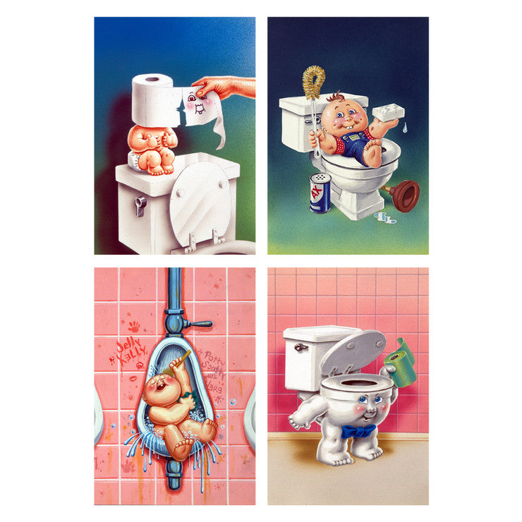 Garbage Pail Kids Potty 4 Pack