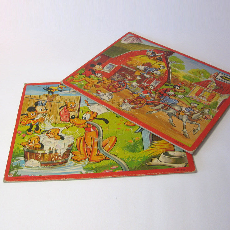 Disney Jigsaw Puzzles Set of 2