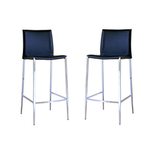 Holofernes Stool Black Set Of 2