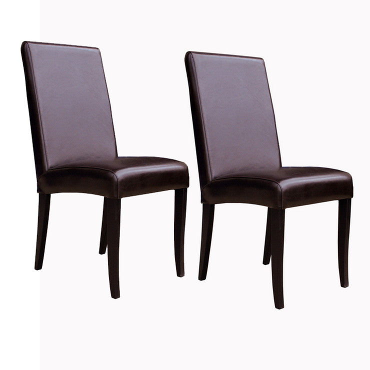 Athens Chair Brown Set Of 2