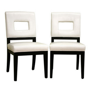 Dining Chairs Set Of 2 White
