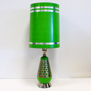 70s Table Lamp Bright Green