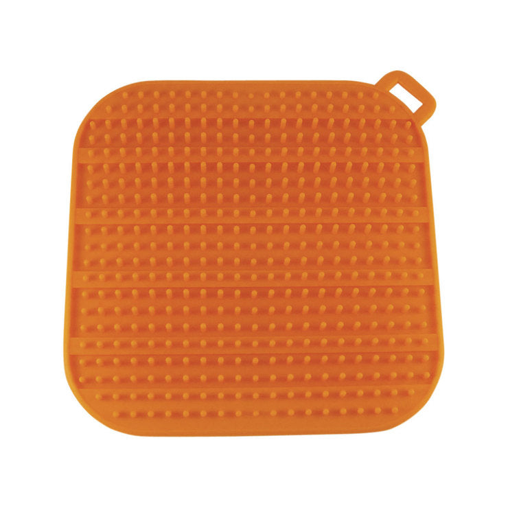 Glass Drying Mat Orange