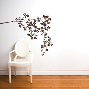Coast Blossom Decal 40x49 Brown