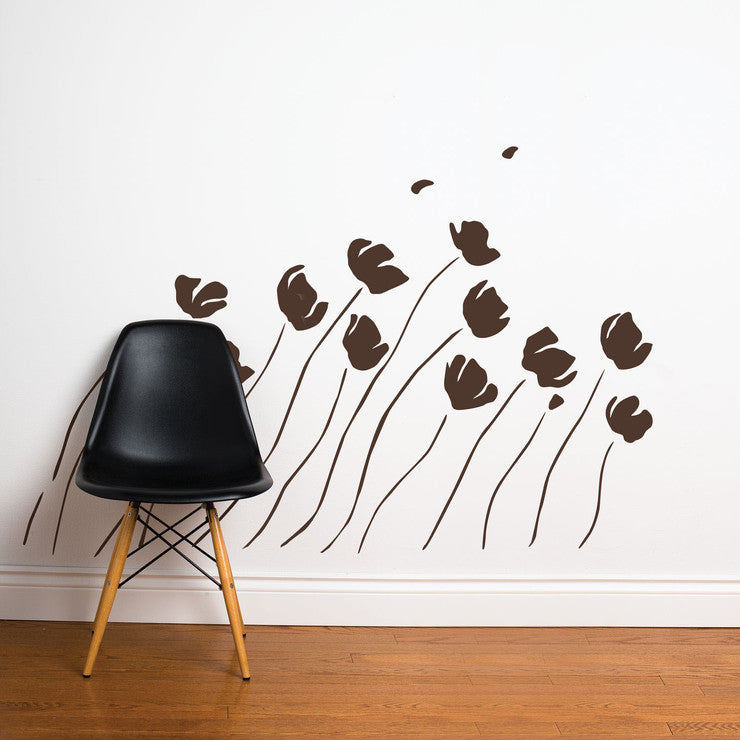 In The Wind Decal 36x63 Brown