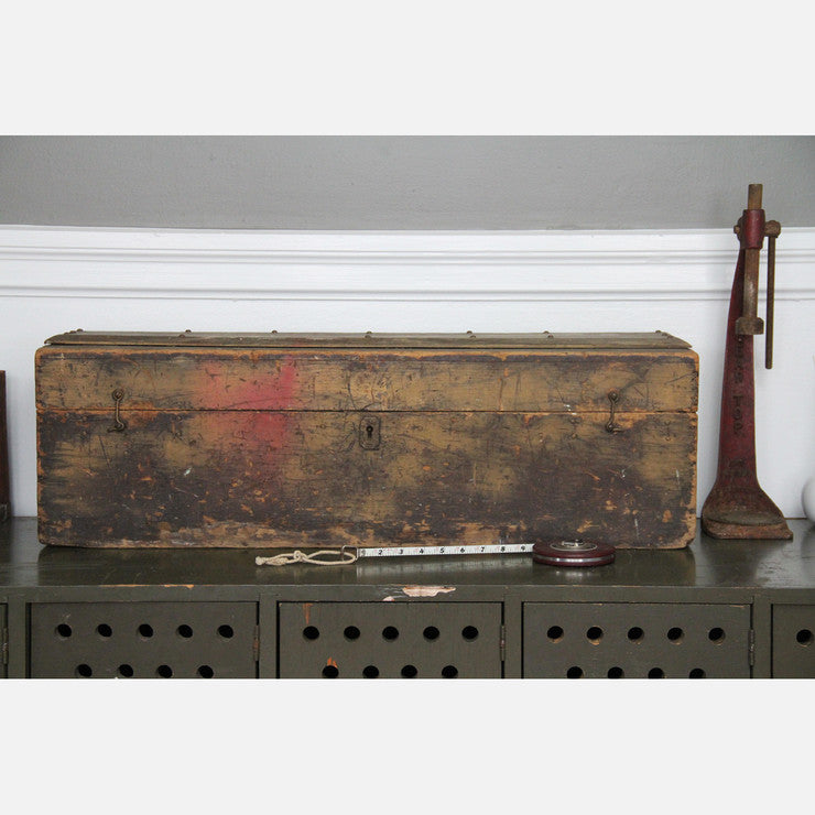Large Rustic Toolbox