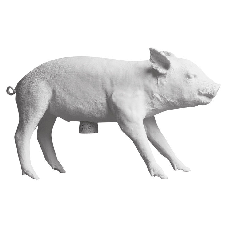 Bank In Form Of A Pig White