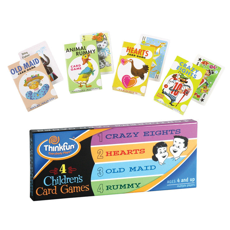 Children's Card Games 4 Pack