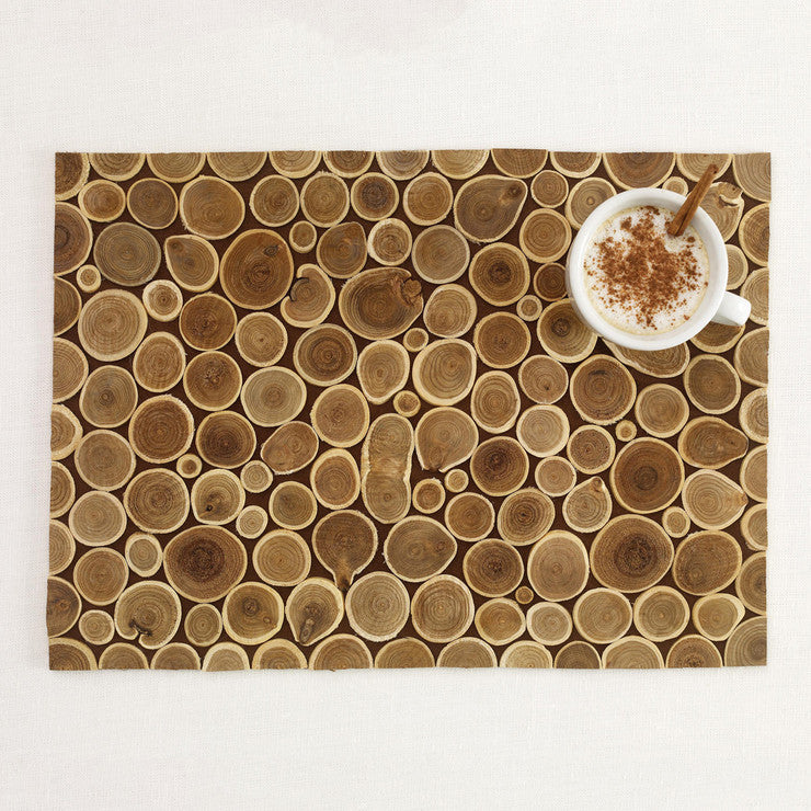 Branch Placemats Dark Set of 4