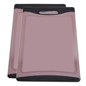 Cutting Board 12x8 Purple 2 Pk