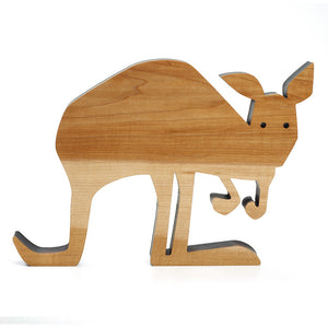 Wood Kangaroo Natural