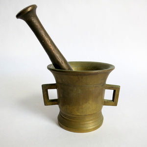 Apothecary Mortar And Pestle