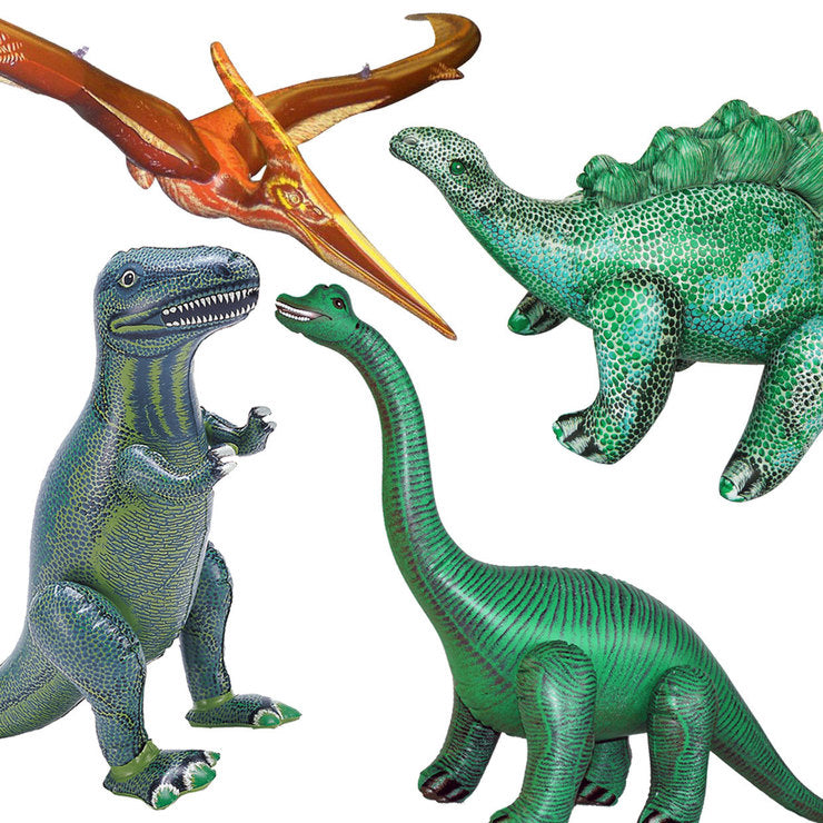 Dinosaurs Set Of 4