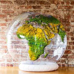 Topographical Globe 36 Inches