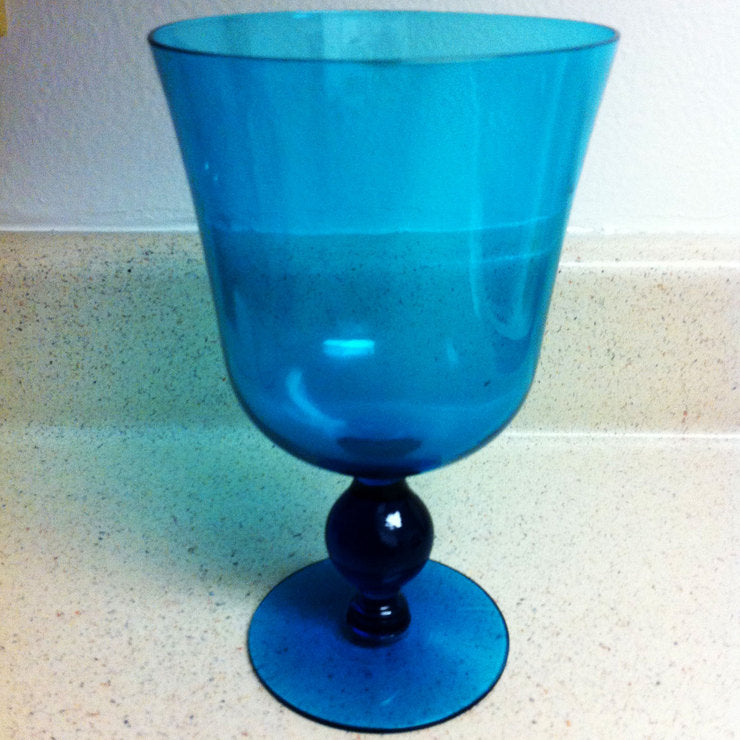 Ball Goblet Blue