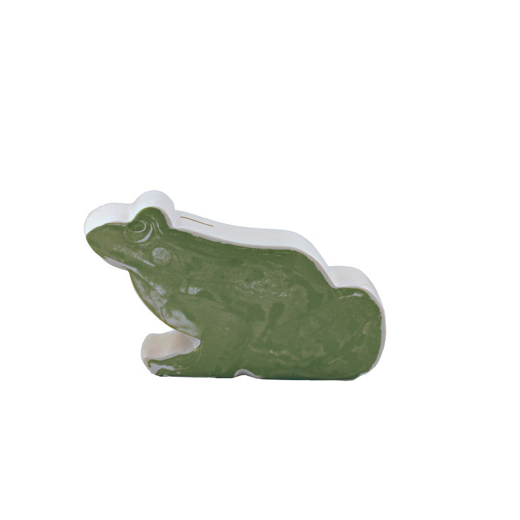 Frog Pictorial Coin Bank