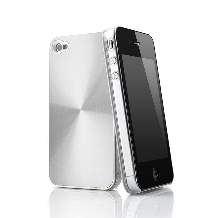 Agentum iPhone Case Silver