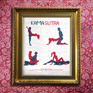 Kama Sutra Cross Stitch Kit